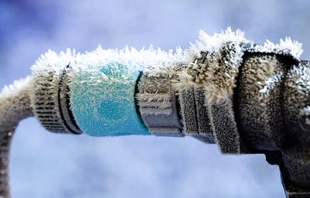 Protégez vos installations contre le gel
